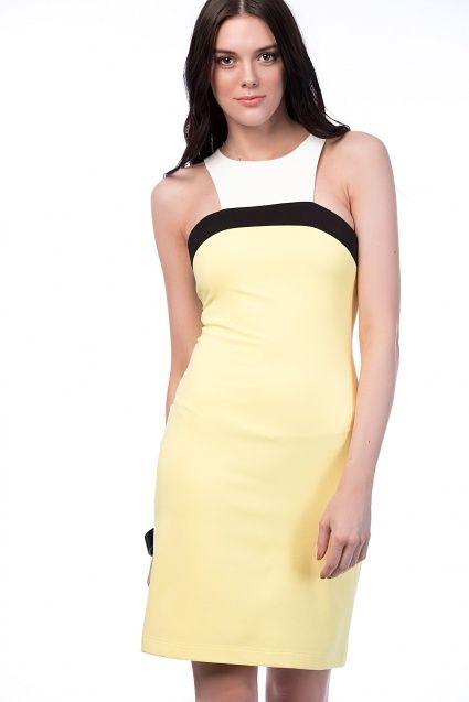 Sarı Elbise 15869
