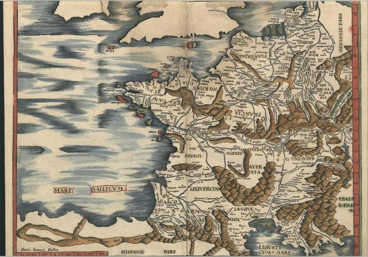 "C.A. 152 V. - 0235 - Ptolomeu (ca 90-ca168) – ""Claudii Ptolemaei viri Alexandrini Mathematicae…"".   Argentinen : Joannis Schotti, 1513. BNP C.A. 152 V."