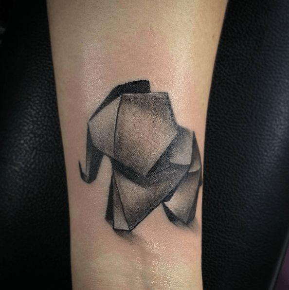 1000 idées sur... Origami Elephant Tattoo