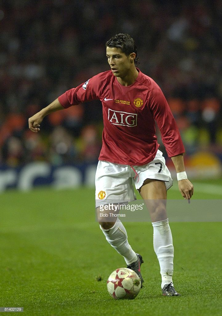 65e179f6d57 Cristiano Ronaldo of Manchester United during the UEFA Champions League  Final between Manchester United and Chelsea held at the Luzhniki Stadium,  Moscow, ...