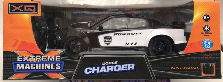 RC Radio Control Dodge Charge Pursuit Full Function Extreme Machines New