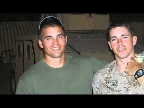 Brothers in Arms Buried Together.  Travis Manion and Brendan Looney were roommates at the naval academy and became as close as brothers. One became a Marine stationed in Iraq, the other, a Navy Seal in Afghanistan. Both have died and were laid to rest side-by-side in Arlington's National Cemetery. David Martin reports