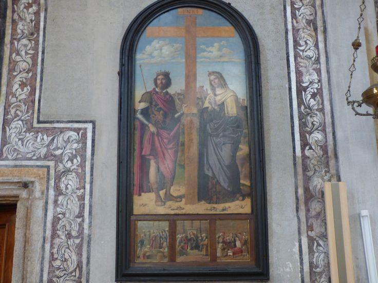 Giambattista Cima, Sant'Elena e Costantino ai lati della Croce.