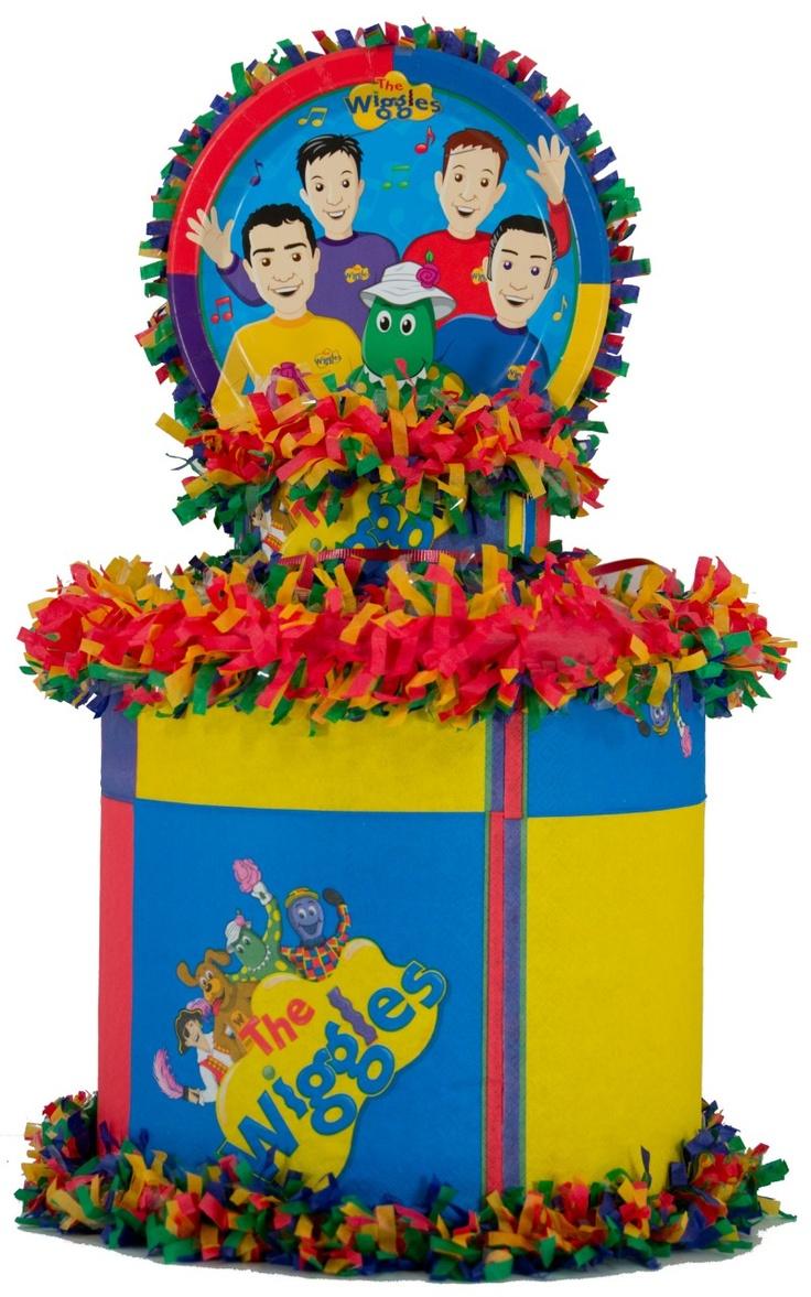 World of Pinatas - The Wiggles Pinata, $27.99 (http://www.worldofpinatas.com/the-wiggles-pinata/)