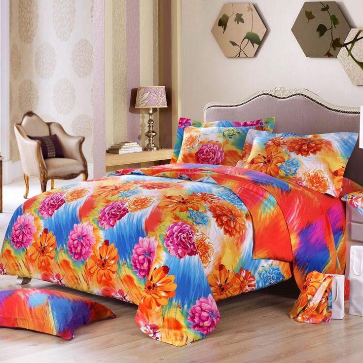 25+ Best Ideas About Orange Bed Sets On Pinterest
