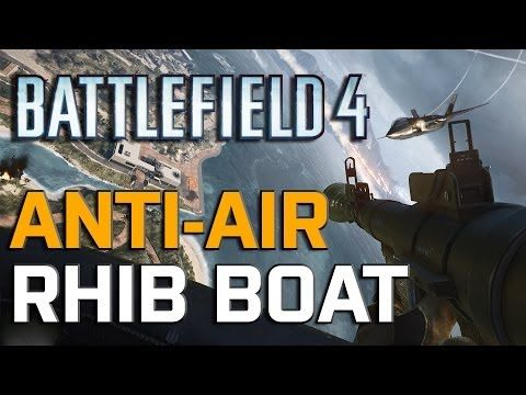 Battlefield 4 Launch - RHIB Boat: Terror of the Skies - YouTube
