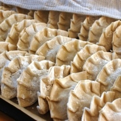 Making homemade gyoza (Japanese potstickers) reminds me of my childhood...: Japanese Potstick, My Childhood, Japanese Food, Childhood Memories, Gyoza Japanese, Homemade Gyoza, Fabulous Food, Japan Potstick, Japan Food