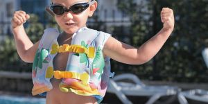 Pool Rules: Swim Safe This Summer  The following tips will help keep your kids safe during an ­afternoon of fun at the pool.