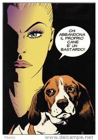 Kover Kollection FDK 227 Eva Kant Cane Dog Koira Chien Hund Perro Serrgio Zaniboni Diabolik n,1