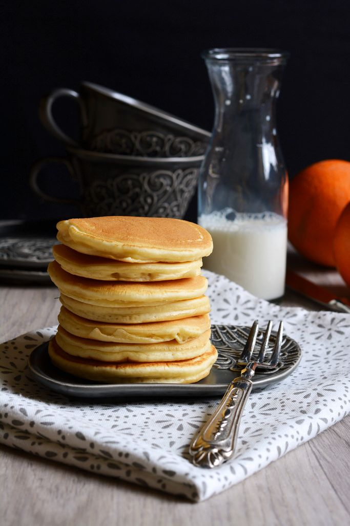 Pan Cake all'arancia
