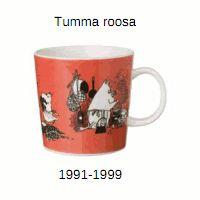 """Tumma Roosa (""""Muumimamma"""") (1991-1999)"""