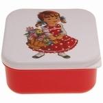 Snackbox Meisje Rood