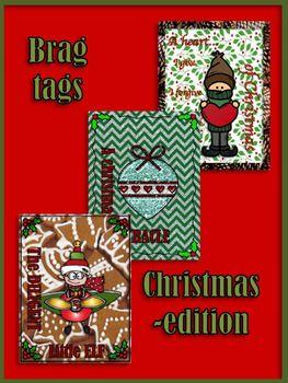 Brag tags - Christmas edition