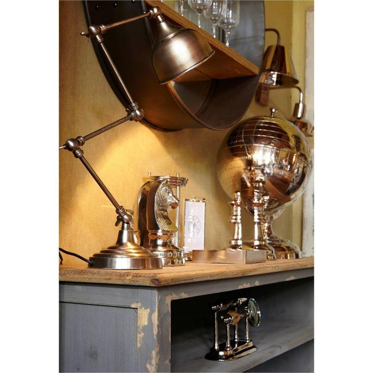 etag re collection calais de chez cote table meuble en pin coloris gris effet vieilli et. Black Bedroom Furniture Sets. Home Design Ideas