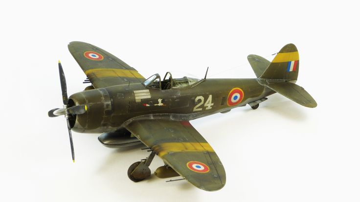 Italeri P-47D Thunderbolt (Featured in Issue 5, Volume 36, July 2014 of Scale Aircraft Modelling.)