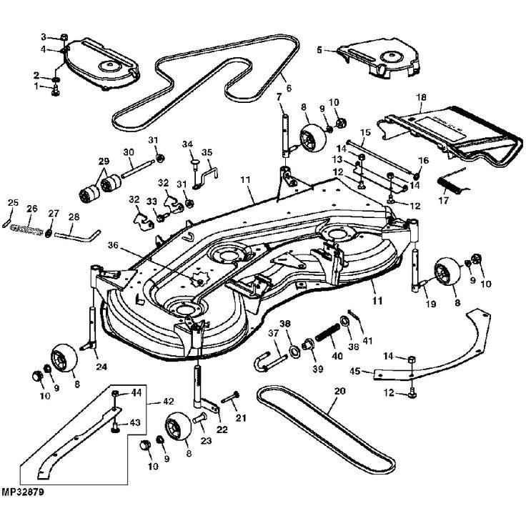 42 best John Deere Replacement Mower Decks images on