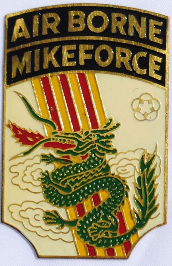 Wartime III Corp Mike Force Beer Can