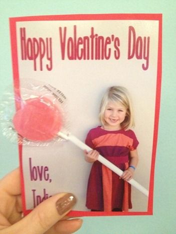 affordable and easy optical illusion lollipop cards for #valentines day