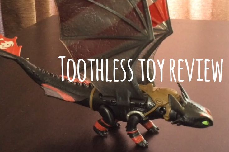 How to Train Your Dragon Toothless Toy Review!
