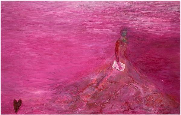Beautiful, intense painting by the Finnish artist Nanna Susi