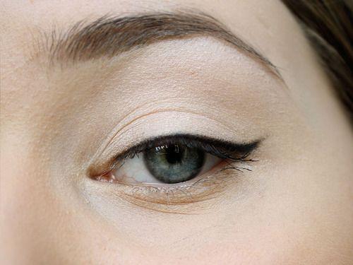 Delineado de ojos perfecto!