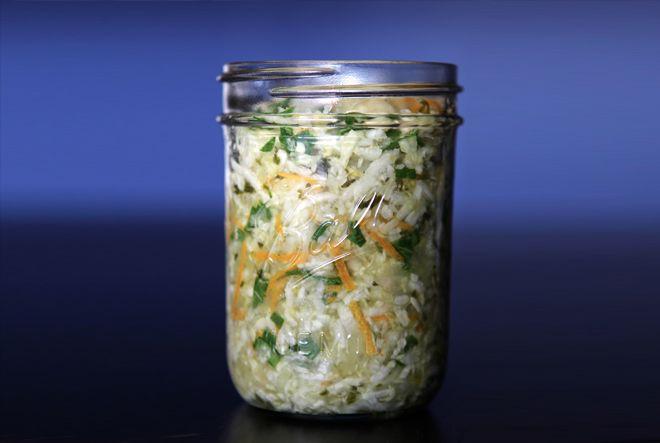 Flu prevention cultured veggies