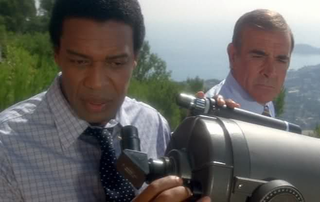 Bernie Casey as Felix Leiter in Never Say Never Again