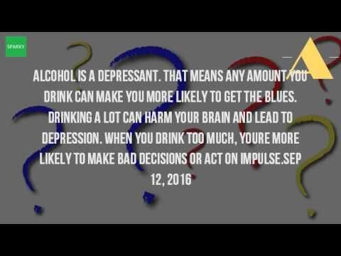 Can Drinking Alcohol Cause Depression? -   WATCH VIDEO HERE -> http://bestdepression.solutions/can-drinking-alcohol-cause-depression/      *** What Are the Causes of Depression ***   The psychological effects of alcoholism casa palmera. However, alcohol can trigger and worsen depression if you suffer from depression, think before taking a drink. Alcoholic beverages and dehydrated alcohol dehydration. Alcohol is a depressant that...