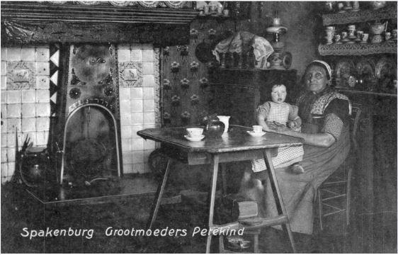 Interieur van een huis te spakenburg gemeente bunschoten for Interieur huiskamer