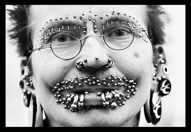 World Record Most Piercings 1
