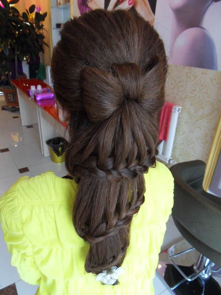 Hair inspiration. And its amazing, because I actually like this. It reminds me o