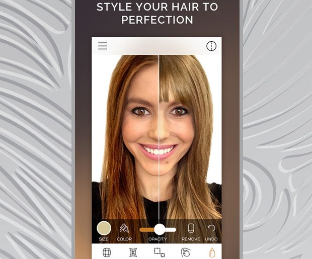 Want To Change Your Hair Color These Apps Will Show You How You Ll Look Change Hair Color Hair Colour App Try On Hair Color