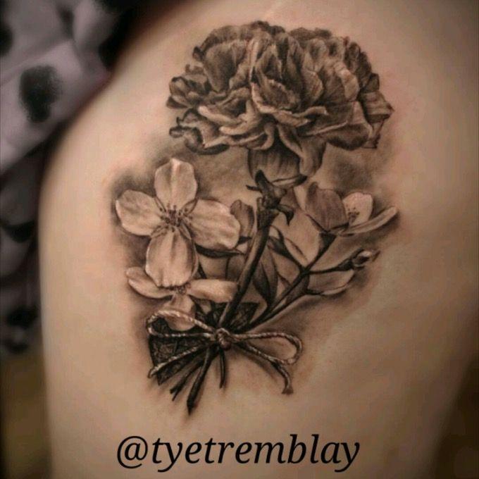 25 beautiful carnation tattoo ideas on pinterest carnation flower tattoo january flower and. Black Bedroom Furniture Sets. Home Design Ideas