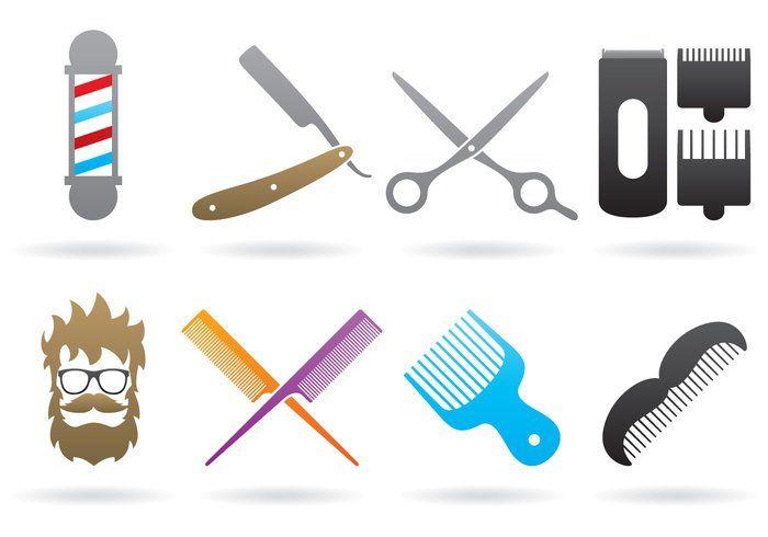 Free vector Barber Logos #22476