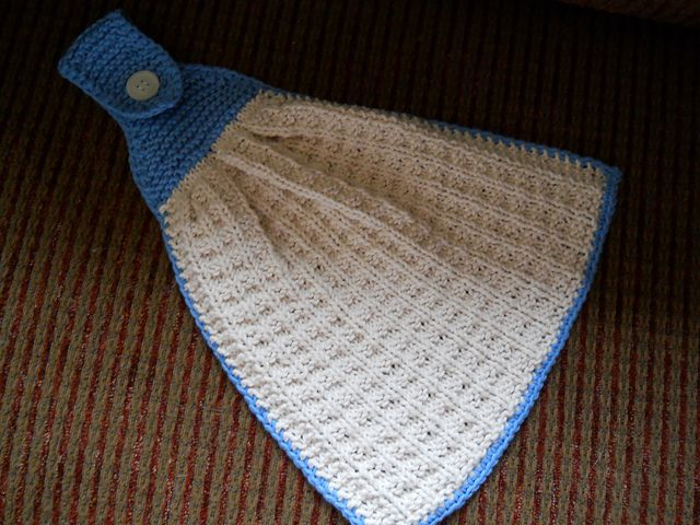 free hanging kitchen towel knitting pattern - I'm going to make a lot of these.