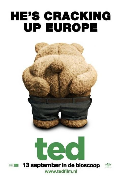 Ted - [Comedy 2012] - As the result of a childhood wish, John Bennett's teddy bear, Ted, came to life and has been by John's side ever since - a friendship that's tested when Lori, John's girlfriend of four years, wants more from their relationship.