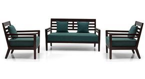 Nelson Wooden Sofa Standard Set 2-1-1