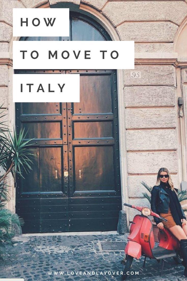 How to Move to Italy #rome #studentvisa #italy #europe #livingabroad