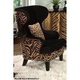 Safari Wing Back Chair Home Decor Pinterest Safari