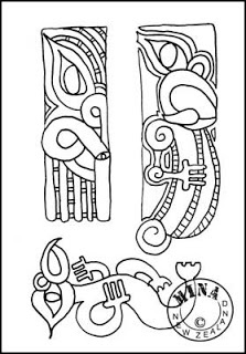 Carvings to Colour In