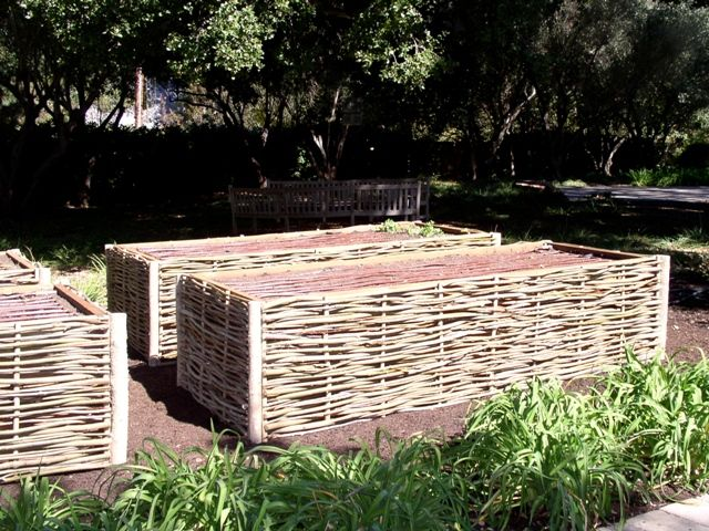 11-Willow planter box hurdles  POSM Note:  Perhaps some Grow Bed (GB) ideas: lin…