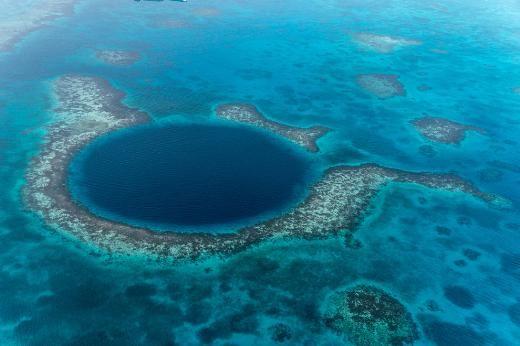 Büyük Mavi Delik - Belize Big Blue Hole - Belize