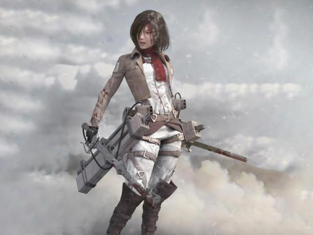 Collection Of Mikasa Ackerman Hd 4k Wallpapers Background Photo And Images Wallpaper Backgrounds Art Wallpaper Anime