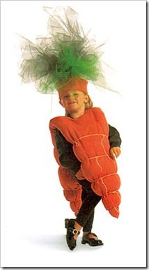 carrot DIY crafts costume idea kids halloween