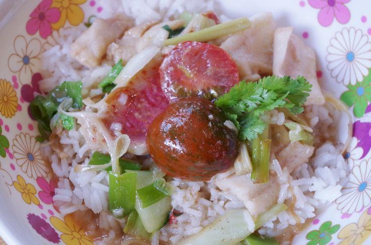 Recettes d'ici et d'ailleurs » Duo de poissons au curry vert, coco et citronnelle