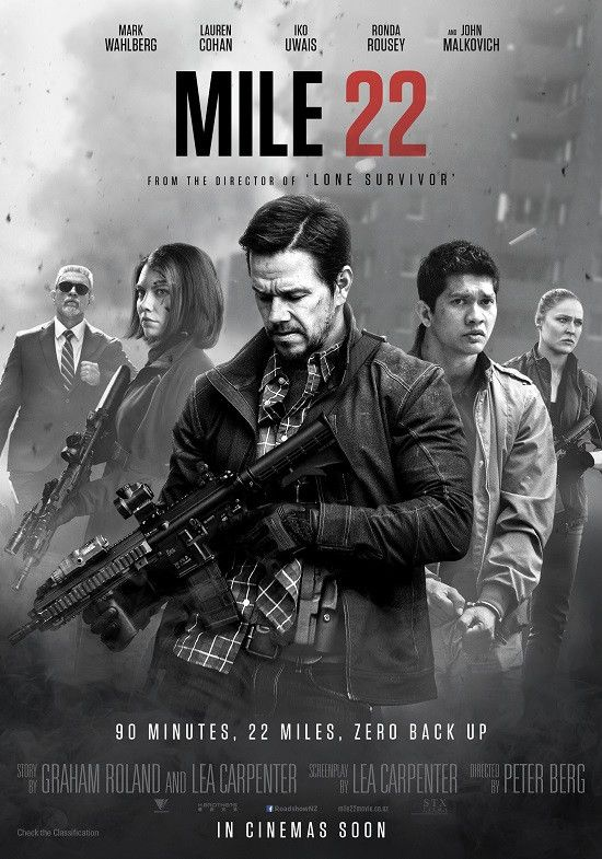 Alexia Netflix: Mile 22 (2018) English 720p HDRip x264 ESubs
