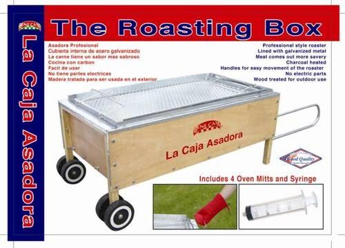 Caja China Box Build A Pig Roaster Cajun Microwave Grill Or