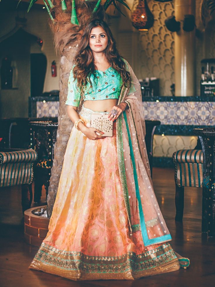 Indian wedding Dress #lehenga