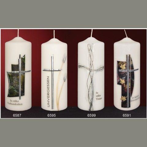 Trauerkerzen-Gedenken - Design- und Kirchenkerzen seit 1792