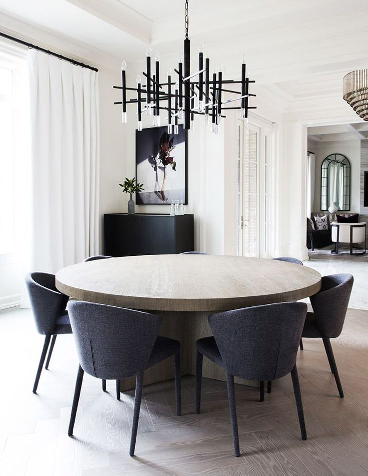 Inside The Modern Toronto Home Tour That Screams Chic Dining